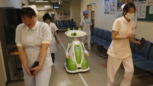 Most of what your doctor does, a robot can do better