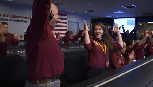 NASA engineers are nailing the landings—and the celebrations