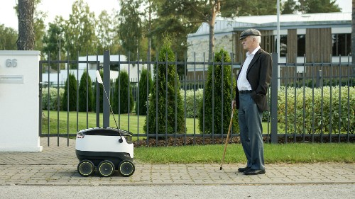 Skype's co-founders are building small robots that deliver groceries for less than $2 a pop