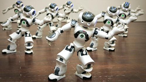 """Elon Musk's AI group has set up a """"gym"""" to train bots"""