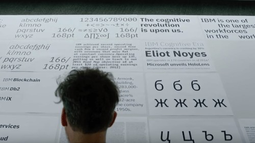 IBM has freed itself from the tyranny of Helvetica