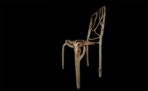 This designer doesn't make chairs. He grows them—from trees