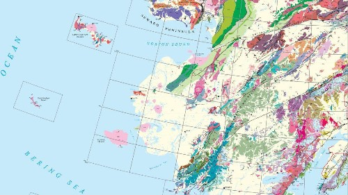 This super-map contains every known piece of geographical data about Alaska