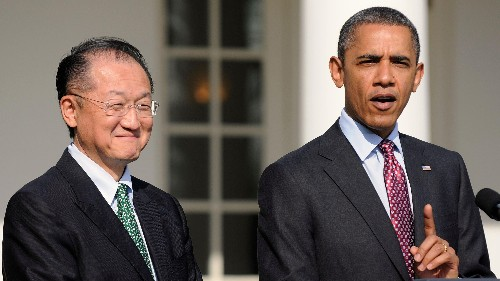 """The president of the World Bank used """"one of the best ploys to get a job"""" Obama had ever seen"""