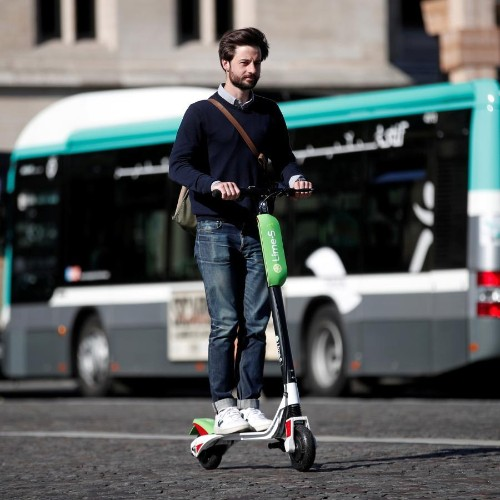 San Francisco's scooters are white dude transport machines