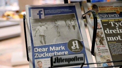 """Norway is furious with Facebook and its algorithms for """"censoring"""" an iconic war photo"""
