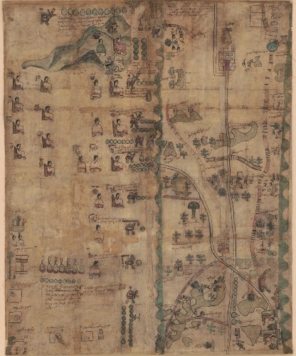 The Codex Quetzalecatzin, a 400-year-old Mesoamerican map of Spanish colonization, is now online for all to see