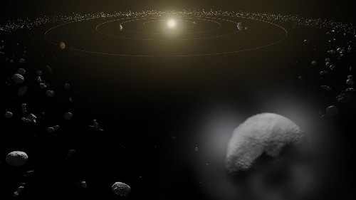 Watch a massive asteroid fly past Earth in its closest encounter in 300 years