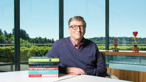 Your summer reading list, provided by Bill Gates