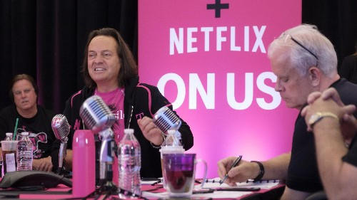 Netflix is being offered for free by T-Mobile to entice new customers