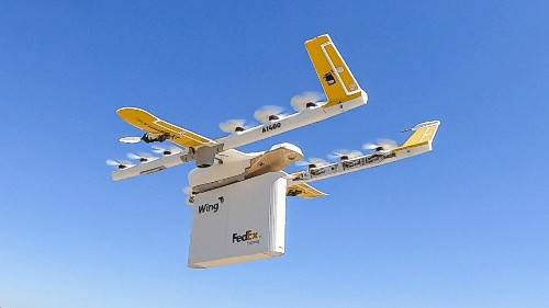 Google Wing launching US drone deliveries with FedEx, Walgreens