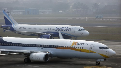 And the Indian airline with the best on-time performance is…