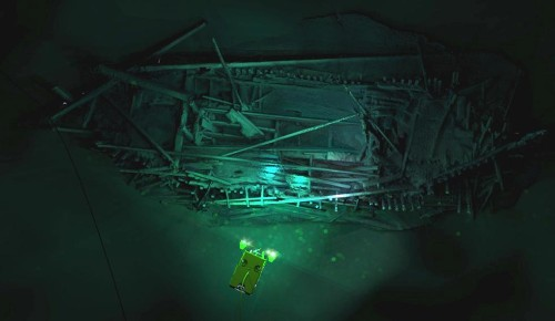 Maritime archaeologists accidentally discovered 40 ancient shipwrecks at the bottom of the Black Sea