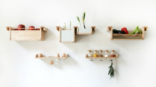 Elegant design solutions to save your food from languishing in the fridge