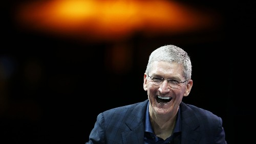 Apple's Tim Cook says cash will be dead for the next generation of kids