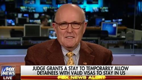 "Rudy Giuliani says Trump asked him how to make a ""Muslim ban"" legal"