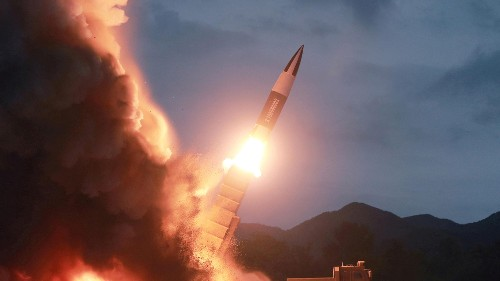 North Korea is citing Donald Trump to justify its latest missile tests