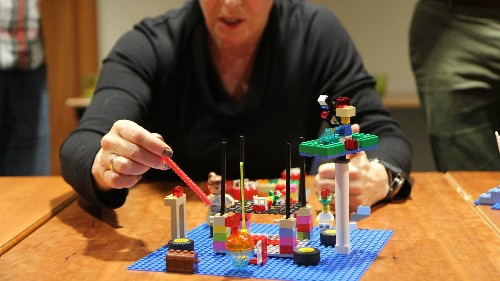 How companies are using LEGOs to unlock talent employees didn't know they had
