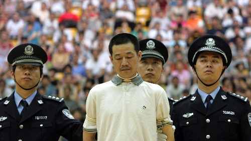 China executes three times more people than the rest of the world combined