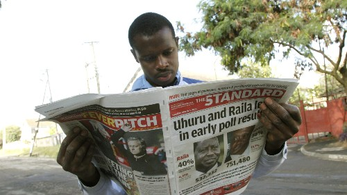 Fake news is already disrupting Kenya's high-stakes election campaign