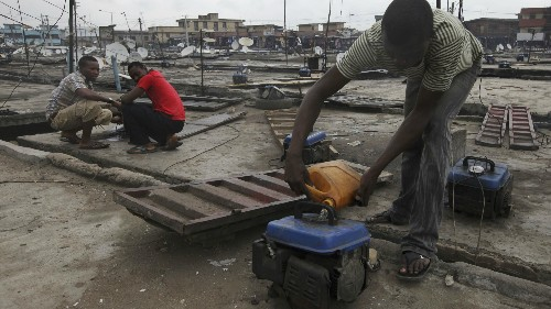 Nigerians can no longer import one of their prized possessions: low-cost power generators