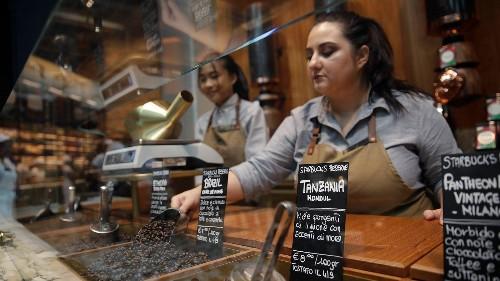 Starbucks' bid to conquer Italy has begun