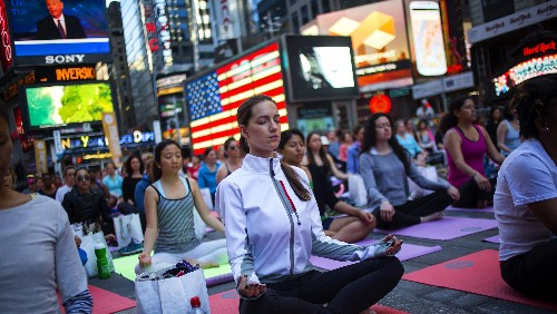 Americans may not know it, but they've long been embracing Hindu philosophy