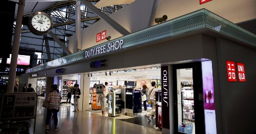 Airports are one place e-commerce can't touch