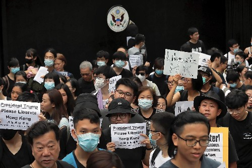 Extradition law: Hong Kong protesters aim for G20 summit in Osaka