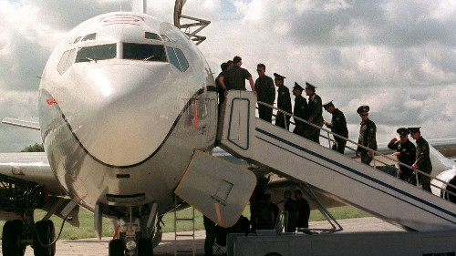 Russia is flying reconnaissance across America as US struggles to stay in the air