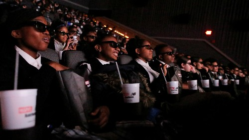 """""""Black Panther"""" dramatically changed the make-up of the superhero movie audience this weekend"""