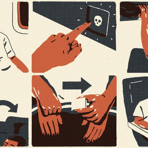 What happens when you die on an airplane