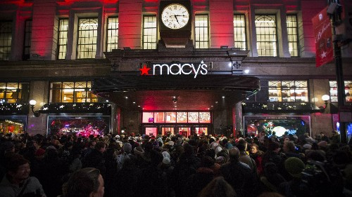 Macy's says its revenues are going to be absolutely terrible this year