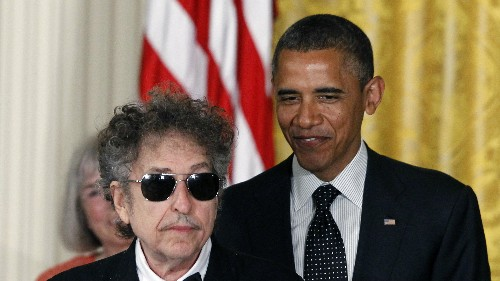 Bob Dylan's views on the economy are just like his lyrics: completely indecipherable