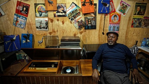 Crate-digging millennials are seeking out classic East African music at Nairobi's vinyl master
