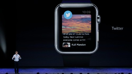This is Twitter's first vision for the Apple Watch era
