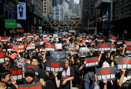 "Hong Kong extradition protesters: ""We are not rioters"""
