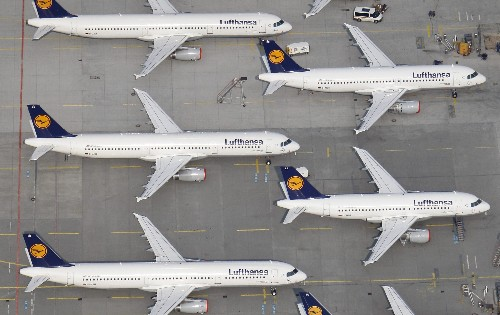 Lufthansa is selling seats on flights through Airbnb