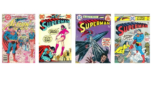 Clark Kent's flying off the printed page. Why the rest of the comic world should follow