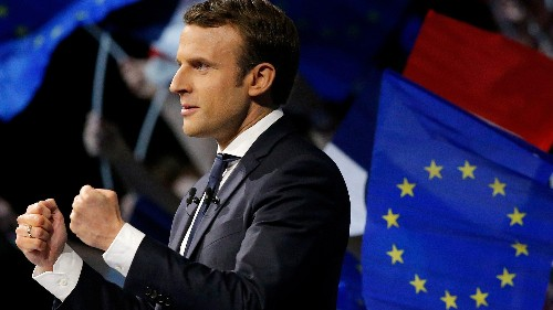 Emmanuel Macron, who started his own party a year ago, has become president of France before the age of 40