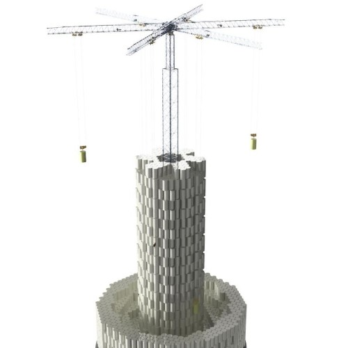 Swiss startup Energy Vault is stacking concrete blocks to store energy