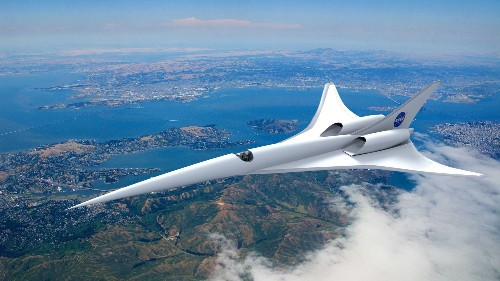 NASA is investing in eco-friendly supersonic airplane travel