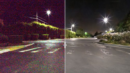 Artificial intelligence is learning to see in the dark