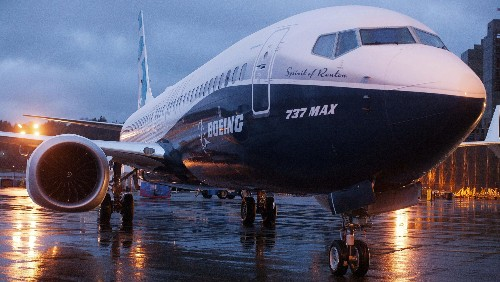 737 Max crisis erases $25 billion from Boeing's market cap