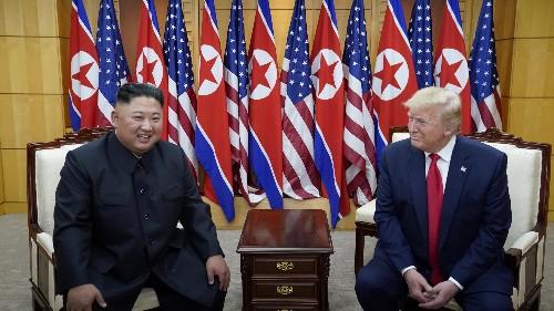 Trump's brief stroll into North Korea is reality TV diplomacy