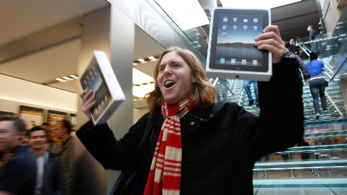 The iPad's first five years, in five charts