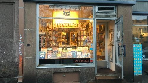 The Helsinki comic book shop that keeps things heroically old-school