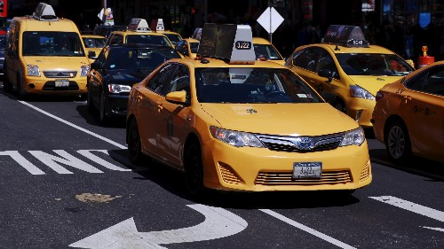 Who's to blame for the plight of the taxi driver?