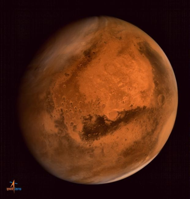 Photos: Incredible images of the red planet from India's Mars mission