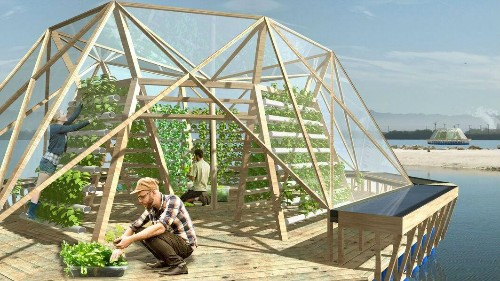This floating greenhouse may be the future of our food